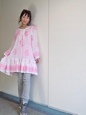 It Girl\u0027s collection|komikaさんの「juliet dunn london 水着の上に可愛い