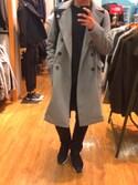 「DIESEL® 'K-Amala' Distressed Alpaca Blend Crewneck Sweater(Diesel)」 using this りょーちん looks