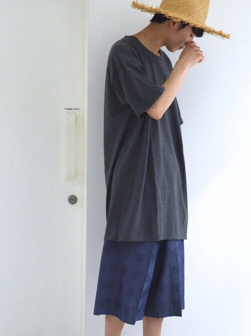 「「ビッグT」メンズ着こなし簡単アレンジ!」の画像