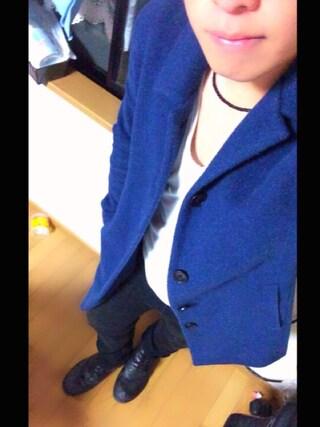 Akiさんの「STUDIOUS カシミヤシャギーステンカラーコート MADE IN JAPAN(STUDIOUS ステュディオス)」を使ったコーディネート