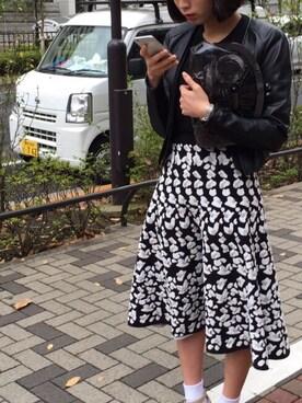 kawase yuiさんの「mame CLUTCH BAG(mame|ミッドウエスト)」を使ったコーディネート