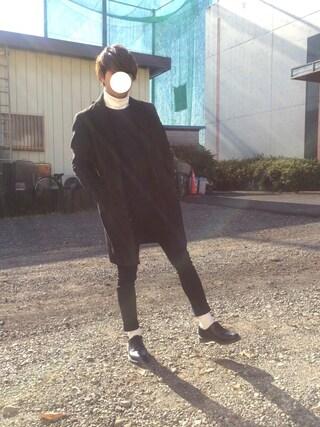 「【コートを軽快に】ウォームクロスチェスターコート(JUNRed)」 using this Hi-de looks