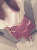 ➳ yuimaru ❤︎さんの「シャイニープリーツスカート(merry jenny|メリージェニー)」を使ったコーディネート