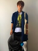 「FOREVER 21 Classic Woven Shirt(Forever 21)」 using this とよまさ looks
