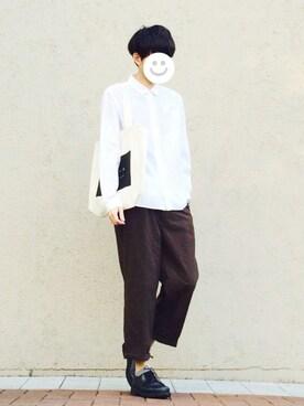 kitsuneさんの(YAECA|ヤエカ)を使ったコーディネート