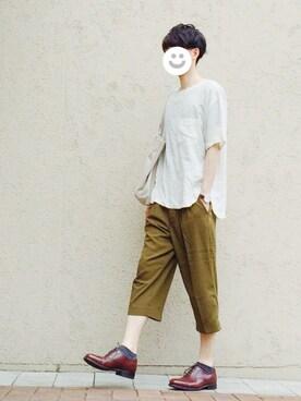 kitsuneさんの(MYE-DO'|マイ・ドゥ)を使ったコーディネート