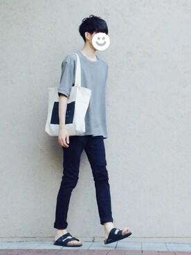 kitsuneさんの(CHEAP MONDAY|チープマンデー)を使ったコーディネート