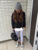 「AMERICAN APPAREL Leggings(American Apparel)」 using this 12anna23 looks