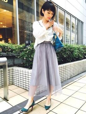 Kaori Takahashiさんの(SLOBE IENA|スローブイエナ)を使ったコーディネート