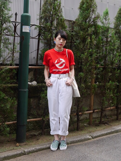 mamiさんの「VINTAGEのTシャツ(VINTAGE)」を使ったコーディネート