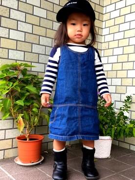 asugiさんの(babyGAP|babyGAP)を使ったコーディネート