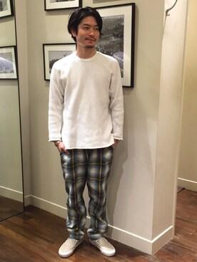 BEAUTY&YOUTH UNITED ARROWS|Munehiro Itoさんの(PHINGERIN|フィンガリン)を使ったコーディネート