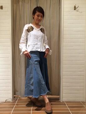 ビームス 横浜東口|wakoさんの(NOMA t.d.|ノーマティーディー)を使ったコーディネート