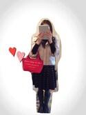 「Moth Jacquard Knit Skater Skirt(Anthropologie)」 using this Mami looks