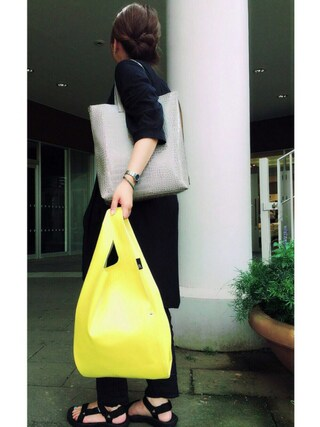 ROOTOTE GALLERY 代官山店 ROOTOTE  STAFFさんの「RS.REG.SN.LTR-A(ROOTOTE ルートート)」を使ったコーディネート