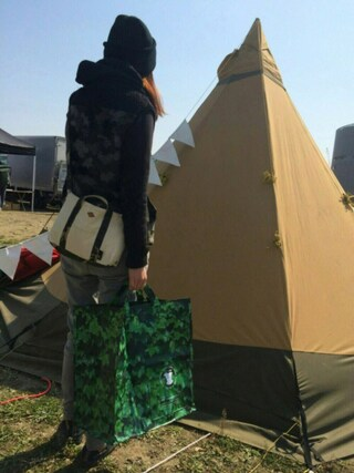 ROOTOTE GALLERY 代官山店|ROOTOTE  STAFFさんの「RT.R-GARBAGE-B(ROOTOTE|ルートート)」を使ったコーディネート