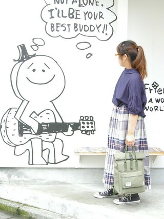ROOTOTE GALLERY 代官山店|ROOTOTE  STAFFさんの「RT.CEOR.SC-B(ROOTOTE|ルートート)」を使ったコーディネート