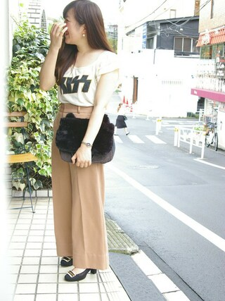 ROOTOTE GALLERY 代官山店|ROOTOTE  STAFFさんの「FMS.SY.BOA-A(ROOTOTE|ルートート)」を使ったコーディネート