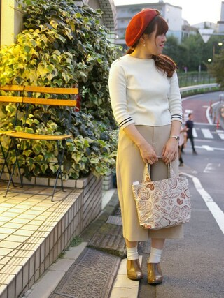 ROOTOTE GALLERY 代官山店|ROOTOTE  STAFFさんの「RT.DEL.SN.Emb-A(ROOTOTE|ルートート)」を使ったコーディネート