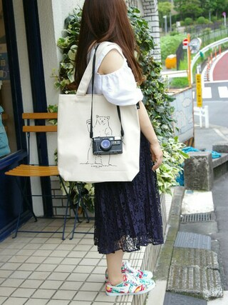 ROOTOTE GALLERY 代官山店|ROOTOTE  STAFFさんの「RT.TAL.SN.ANM-A(ROOTOTE|ルートート)」を使ったコーディネート