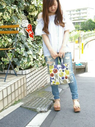 ROOTOTE GALLERY 代官山店|ROOTOTE  STAFFさんの「RT.SQ.SN.EL-N(ROOTOTE|ルートート)」を使ったコーディネート