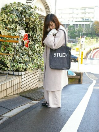 ROOTOTE GALLERY 代官山店|ROOTOTE  STAFFさんの「RT.TAL.SC.CDR-A(ROOTOTE|ルートート)」を使ったコーディネート