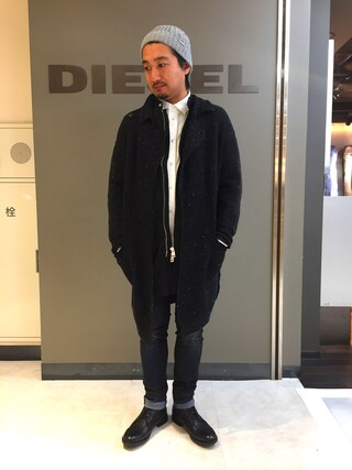 「K-UDIT BERRETTO(DIESEL)」 using this DIESEL 池袋パルコ|TATSUYA looks