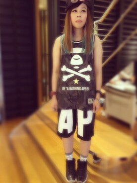 (AAPE BY A BATHING APE) using this 珊珊💖 looks