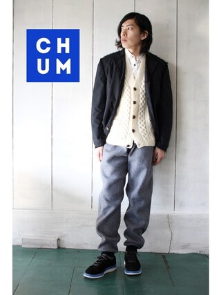 古着屋Chum|chum-kenさんの(COMME des GARCONS|コムデギャルソン)を使ったコーディネート
