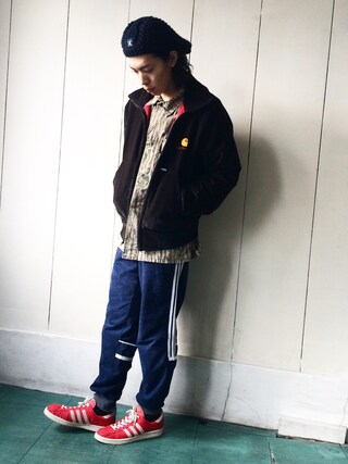 古着屋Chum|chum-kenさんの(Carhartt|カーハート)を使ったコーディネート
