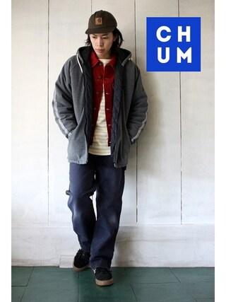 古着屋Chum|chum-kenさんの(STUSSY|ステューシー)を使ったコーディネート
