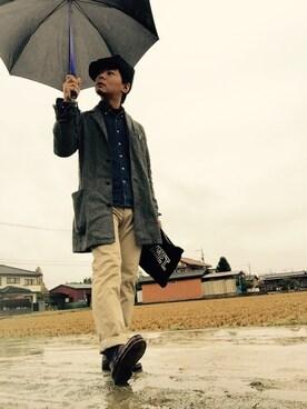 Ayato Kaminaさんの(HARRIS TWEED|ハリスツイード)を使ったコーディネート