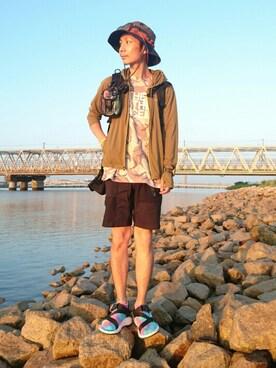 matsu★さんの(THE NORTH FACE PURPLE LABEL|ザ ノースフェイス パープルレーベル)を使ったコーディネート