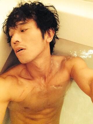 庄司智春さんの「お風呂」を使ったコーディネート