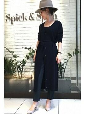 Spick & Span ルミネ荻窪店|SHINoさんの「スリムカラーパンツ◆(Spick & Span)」を使ったコーディネート