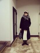 今日は寒いからかなり着込みましたー。  12月最後の2連休、お友達とランチしたあと お仕事の相談で馬喰町のMARKTE へ。 WEARの日記更新しました��  ストール JOURNAL STANDARD  コート  BEAMS BOY 羽織 nest Robe ブラウスLE TiROiR de DRESSTERIOR  スカート Honnete