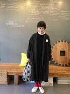 今日は娘の学校公開のあと仕事でした。スカートはインスタでオーダーしたみずきちゃんのスカート。 タイツはyocka(http:/www.yockasock-jp.com/)で購入したタイツ。 両方ともお気に入りです��