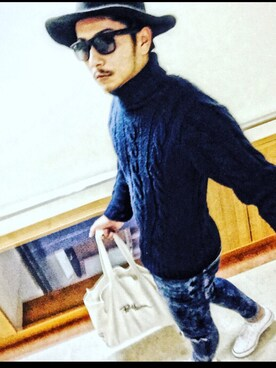yusukeさんの(Bershka ベルシュカ)を使ったコーディネート