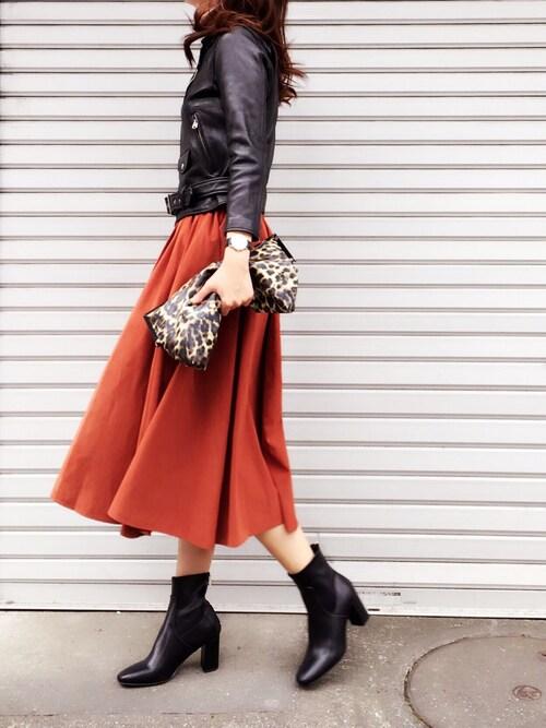 miimaさんの「BEAUTIFUL PEOPLE ライダースジャケット【ESTNATION別注】(beautiful people)」を使ったコーディネート