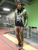 mizukiさんの「Onitsuka Tiger / COLORADO EIGHTY-FIVE(ONITSUKA TIGER|オニツカタイガー)」を使ったコーディネート