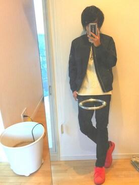 yu(ゆー)さんの(adidas|アディダス)を使ったコーディネート