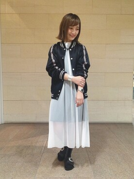 ビームス 阿倍野 五十嵐梨花さんのコーディネート
