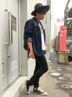 うえうえさんの(KIJIMA TAKAYUKI|キジマ タカユキ)を使ったコーディネート