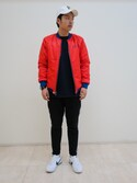 「Reflective Stripe Tapered Pants(Xlarge)」 using this 勝山 拓 looks