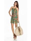 「SHEER PRINTED SHORT DRESS(Ondademar)」 using this OndadeMar looks