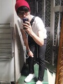 홍석균さんの「International Playground online store(CHOIES|チョイース)」を使ったコーディネート