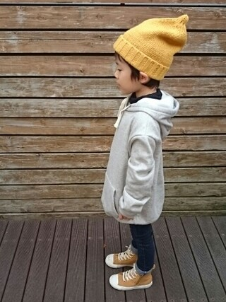 OU.さんの「CONVERSE / CHILD ALL STAR N WORKBOOTS Z HI(CONVERSE|コンバース)」を使ったコーディネート