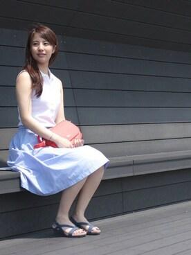 LACOSTE 羽田第1旅客ターミナル店 MIYUKI SAITOさんの(LACOSTE ラコステ)を使ったコーディネート