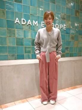 ADAM ET ROPE' 名古屋パルコ|Emilyさんの(ADAM ET ROPE'|アダム エ ロペ)を使ったコーディネート