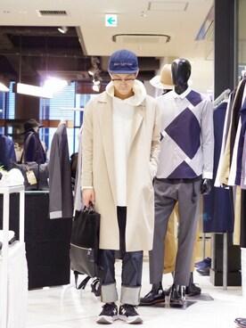 Lui's ルミネマン渋谷店|あらいさんの(NEW BALANCE|ニューバランス)を使ったコーディネート